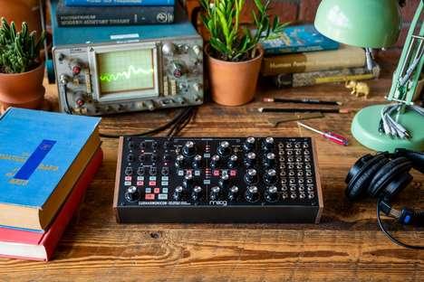 Creative Polyrhythmic Analog Synthesizers