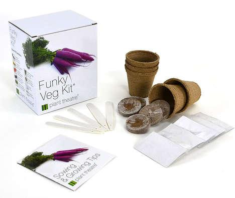 Heirloom Vegetable Gardening Kits