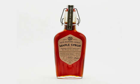 Barrel-Finished Maple Syrups