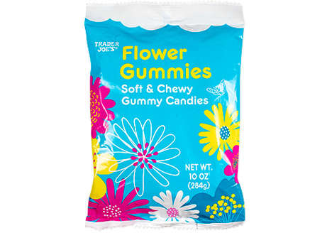 Chewy Floral Gummy Candies