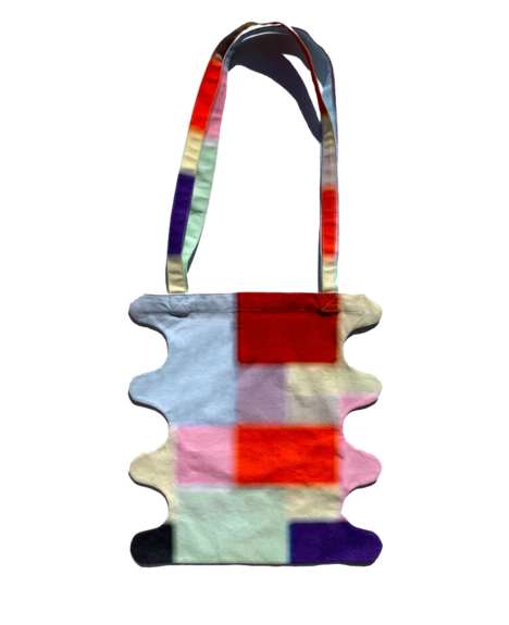 Glass Art-Inspired Totes