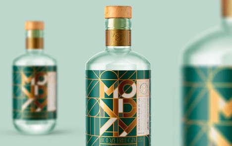 Botanical Zero-Alcohol Gins