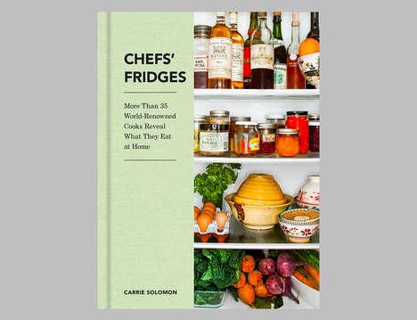 Chef Fridge-Revealing Books