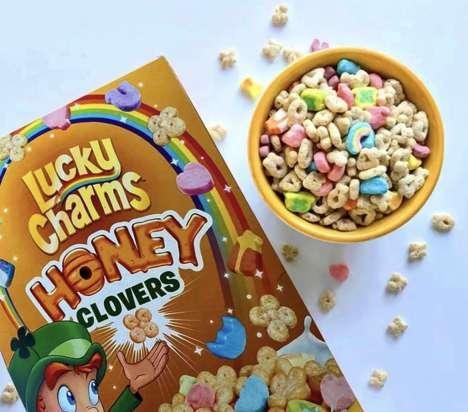 Honeyed Marshmallow Breakfast Cereals
