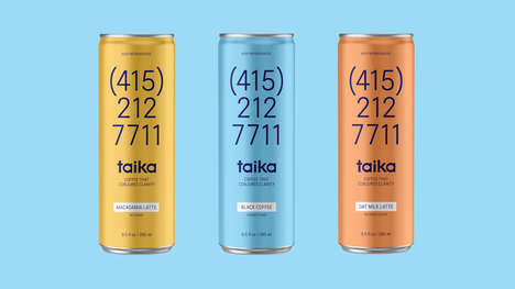 Adaptogenic Canned Coffees