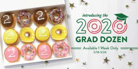 Graduation-Themed Donut Boxes