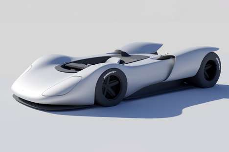 Sleek Ghostly Sports Cars
