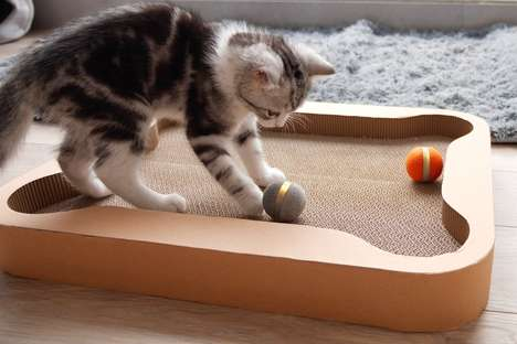 Interactive Feline Board Games