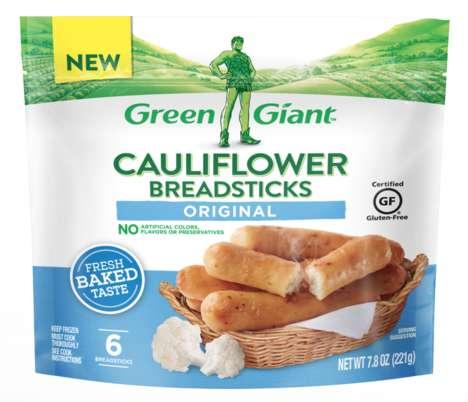 Cauliflower-Based Breadsticks