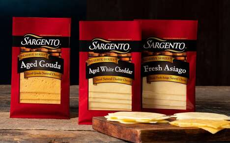 Artisan-Quality Sliced Cheeses