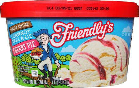 Pie Crust-Studded Ice Creams