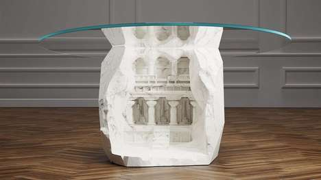 Ancient Monument Table Designs