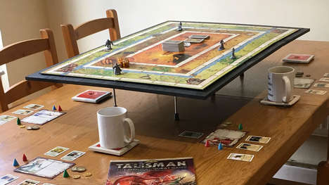 Elevated Tabletop Game Boards