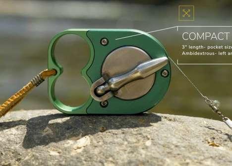 Keychain-Sized Fishing Reels