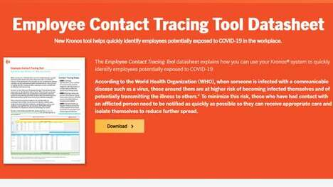 Employee Contact-Tracking Tools