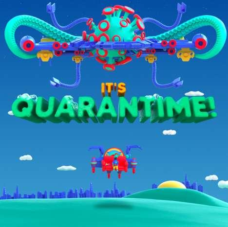 Giant Robot-Controlling Arcade Games
