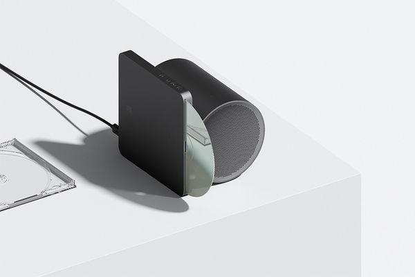 Elegant Futuristic CD Players