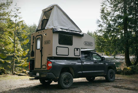 Off-Grid Pickup Truck Campers