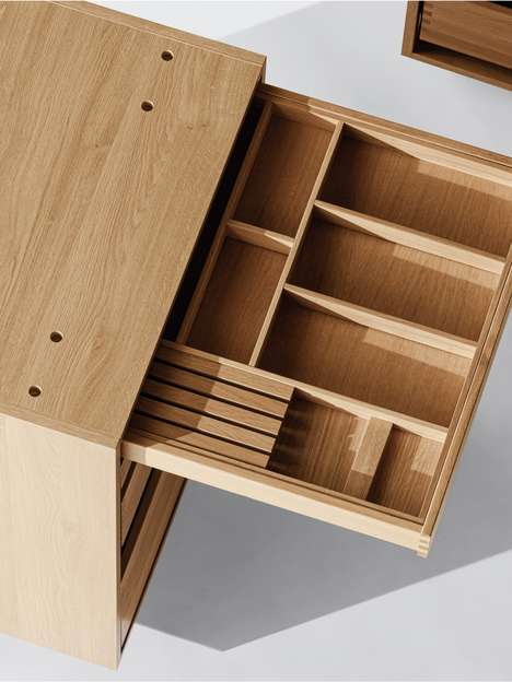 Fastener-Free Cabinetry Designs