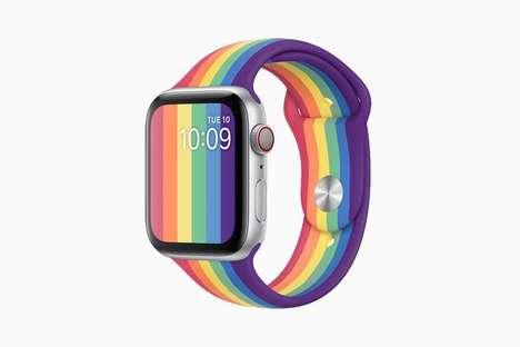 Pride-Honoring Smartwatch Straps