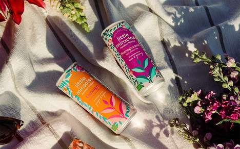 Lightly Energizing Sparkling Teas