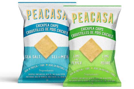 Mediterranean Chickpea Chips