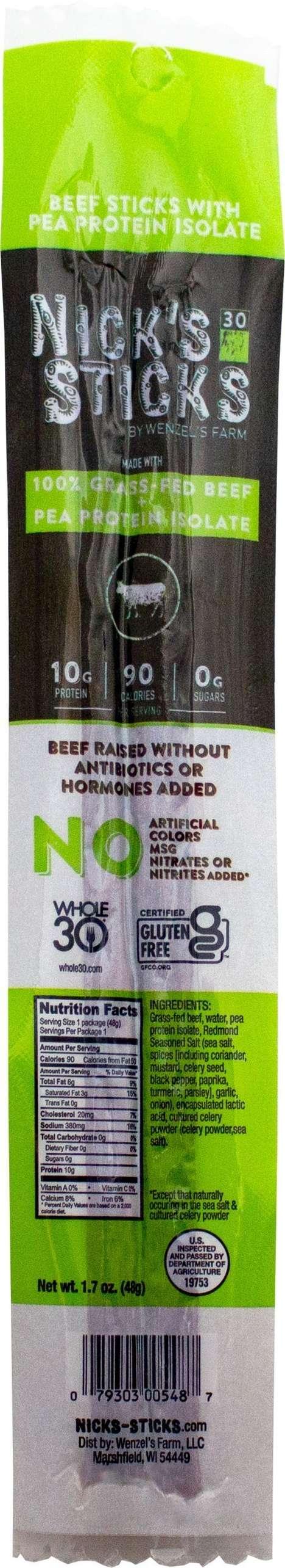 Hybrid Protein Beef Sticks