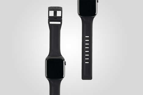 Antimicrobial Silicone Smartwatch Straps