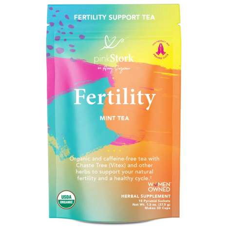 Plant-Based Reproductive Health Teas