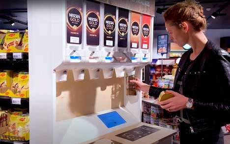Instant Coffee Retail Dispensers