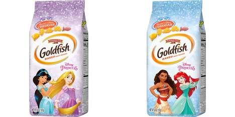 Disney Princess-Shaped Crackers