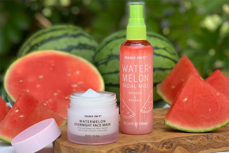 Overnight Watermelon Face Masks
