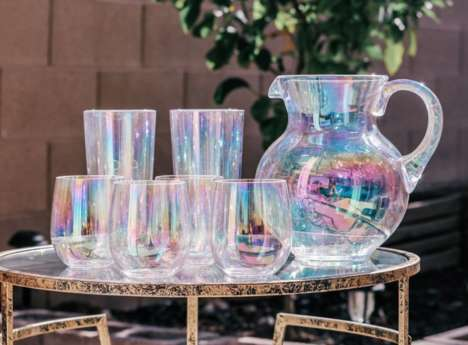 Iridescent Drinkware Collections