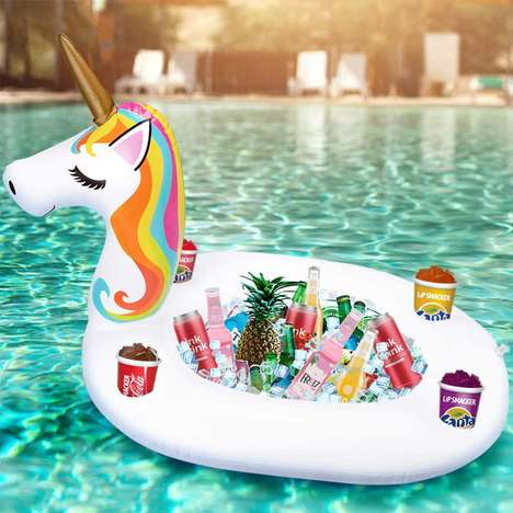 Floating Unicorn Coolers