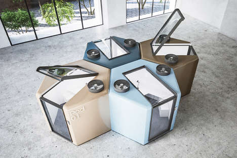 Health-Focused Office Pods