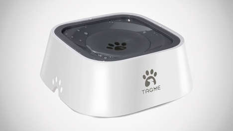 Floating Mess-Free Dog Bowls
