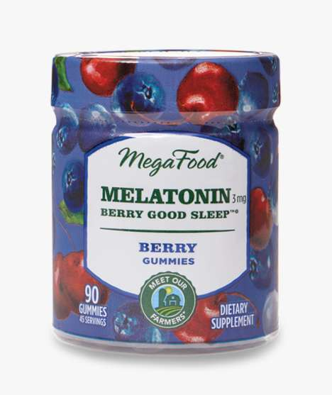 Berry-Infused Melatonin Gummies