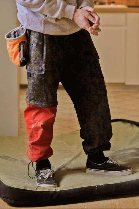 Zippered Rugged Cargo Pants