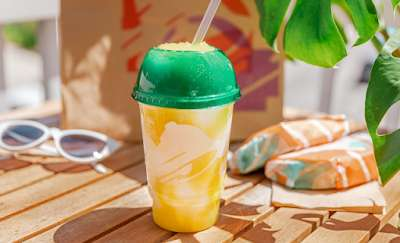 Frozen Pinapple Slushies