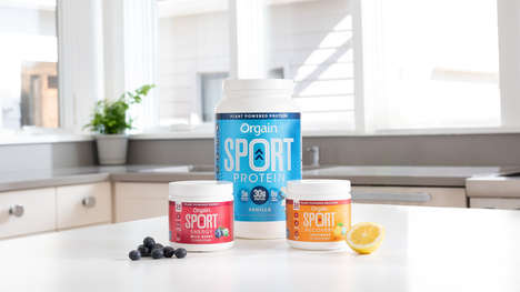 Plant-Based Sports Powders