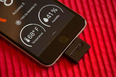 Smartphone-Powered Air Monitors