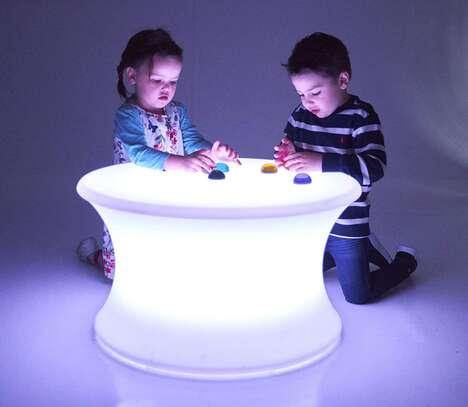 Illuminated Sensory Play Tables