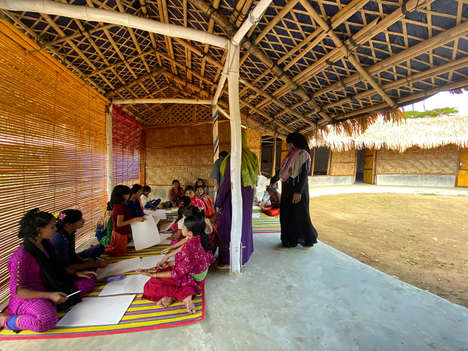Bamboo-Built Community Centres