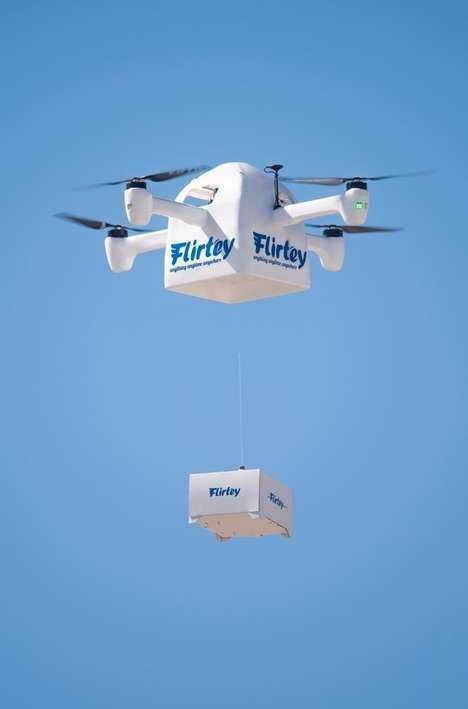 Contactless Drone Deliveries