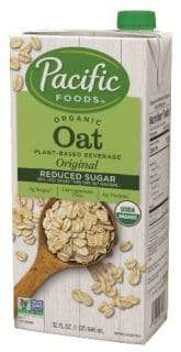 Low-Sugar Oat Drinks