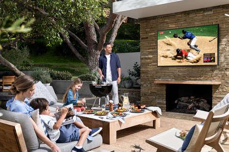 Backyard 4K QLED TVs