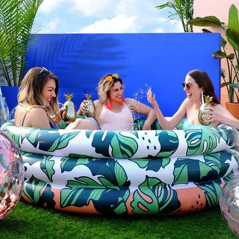 Adult-Sized Inflatable Pools