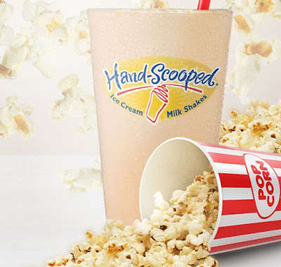 Popcorn-Flavored Milkshakes
