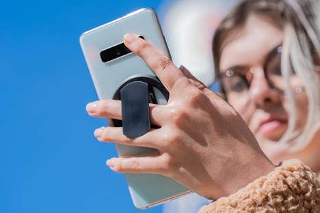 Razor-Thin Smartphone Grips