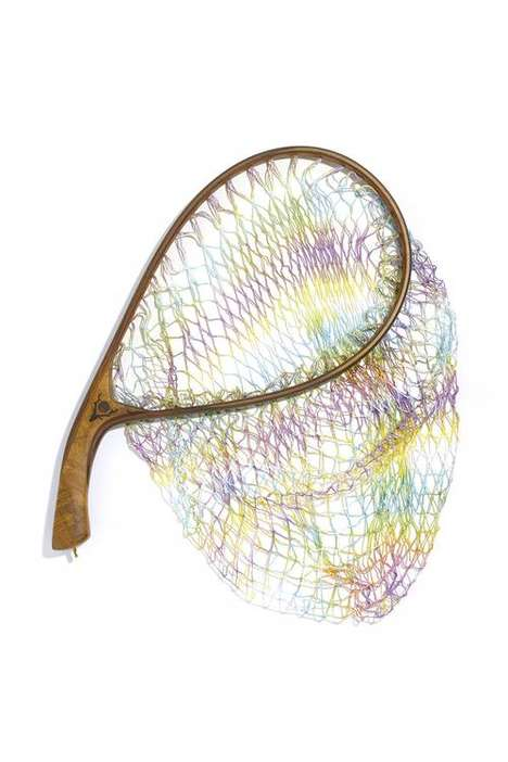 Handmade Tie-Dye Landing Nets